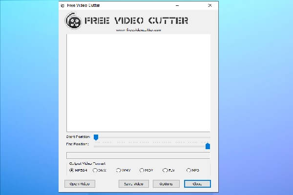 Free Video Cutter for PC