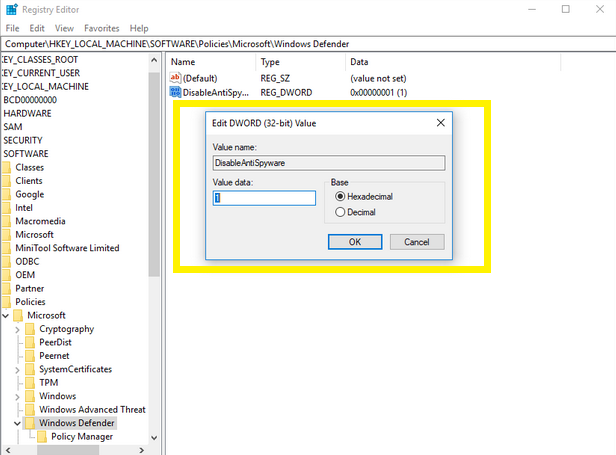 Fix: High CPU Usage By Antimalware Service Executable (MsMpEng) on Windows 10