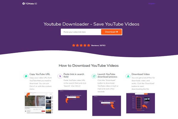 Y2Mate IO Youtube Downloader